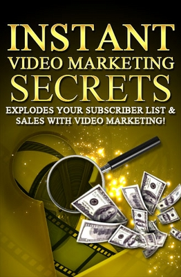 Product picture Instant Video Markenting Secrets