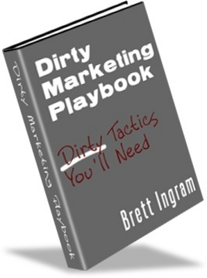 Product picture Dirty Marketing Playbook PLR - Make Money from your Website